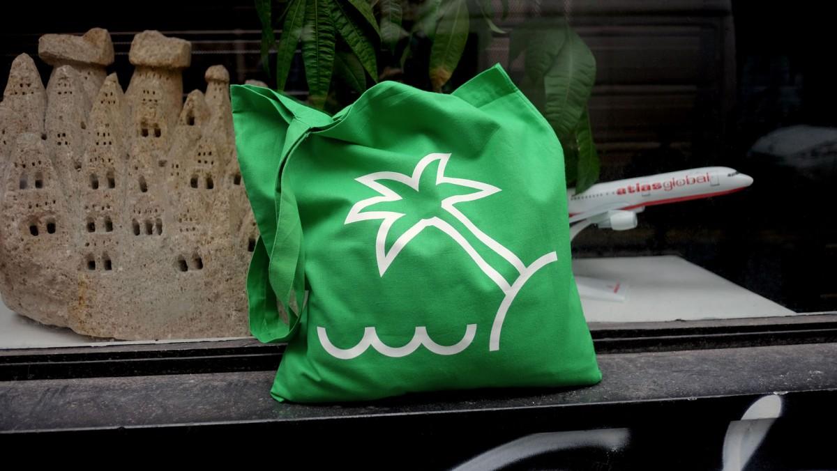Tote bags pour la Cantine du Voyage